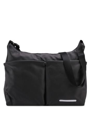 Rawrow black Rugged Canvas 171 R Crossbody Bag 5899CAC7089DDCGS_1