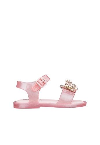 Melissa 粉紅色 [ New Arrival ] Mini Melissa Mar Sandal Fly Toddlers Sandals 00672KS8F3C7BCGS_1
