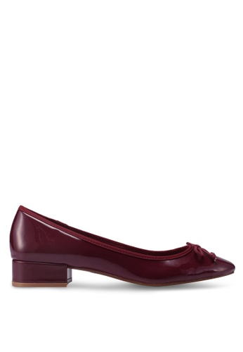 Mango red Patent Leather Heel Shoes FB3C3SHEBD1062GS_1
