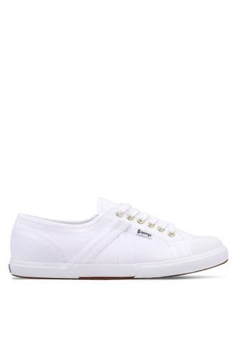 Superga white Plus Cotu Sneakers A6C5ASH920AEE0GS_1