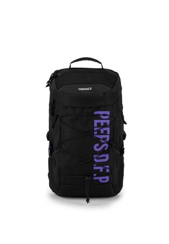 Peeps black and purple Titan Backpack AB45AAC0FF22F9GS_1