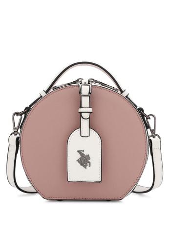Swiss Polo pink Sling Bag 750F5AC96137E7GS_1