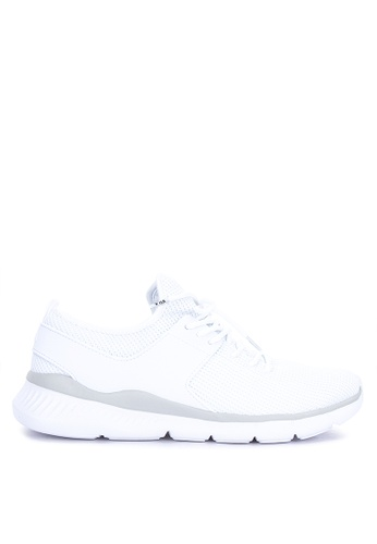 Fila white Concept Running Shoes 23D9ASH6C5449EGS_1