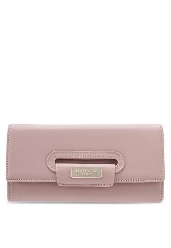 Unisa pink Faux Leather Bi-Fold Wallet UN821AC0SINJMY_1