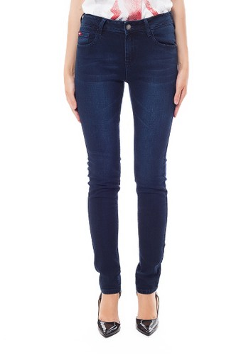 Lee Cooper blue Lee Cooper Women s BETH Curvy Straight Jeans enzyme wash  DE080AA85FA8D4GS 1 30d955bf32