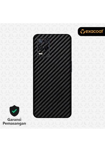 Exacoat Realme 8 5G Skins Carbon Fiber Black - Cut Only 70C9EES7E117DFGS_1