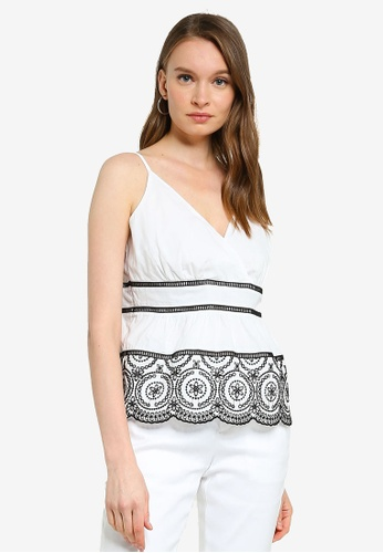 Banana Republic multi Eyelet Tiered Camisole Top 26E69AAAC59193GS_1
