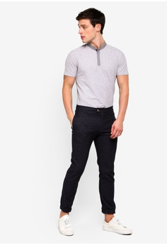 ea92a093 45% OFF G2000 Houndstooth Stand Collar Polo S$ 53.00 NOW S$ 29.00 Sizes XS S
