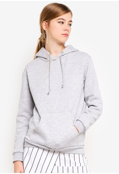 90c6b40ced Brave Soul grey Hooded Sweater With Pouch Pocket EDF4FAA51E700FGS 1