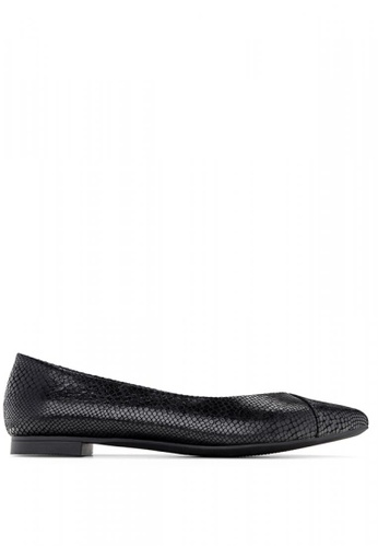 Vionic black Gem Caballo Ballet Flats ED260SH9D3D915GS_1