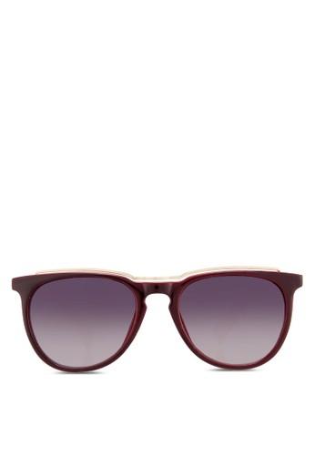 雙色太陽眼鏡, 飾品配zalora 順豐件, 飾品配件