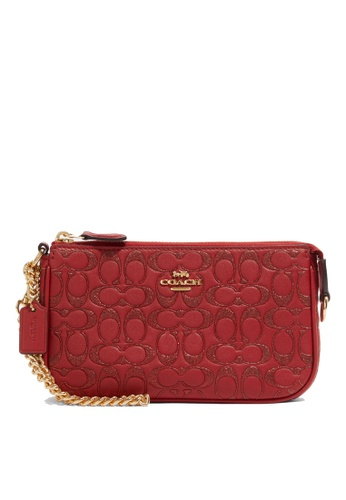 Coach red Large Wristlet 19 (cv) 86C4EAC8506BFDGS_1