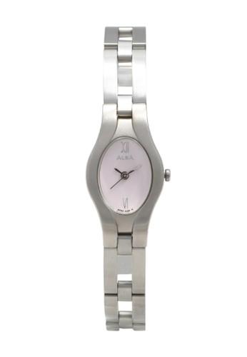 Alba silver ALBA Jam Tangan Wanita - Silver Pink - Stainless Steel - AC3A27 24257ACFB24903GS_1
