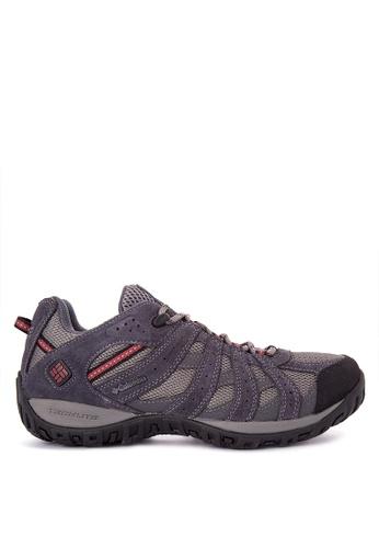 Columbia grey Redmond Waterproof Men's Shoes B05A5SHD6FF8C7GS_1