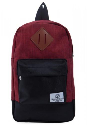Woodbags red Woodbags Shoulder Bag S4 Red - Sling & Backpack - Everyday Partner!! 8D3D5AC6124610GS_1