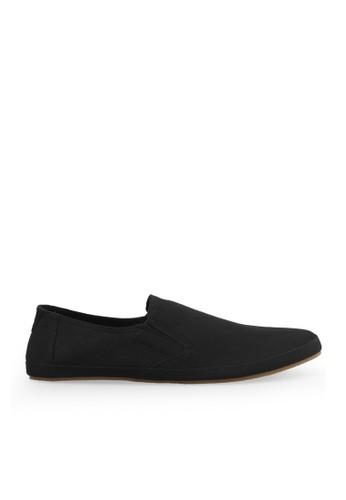 Minarno black Black Canvas Slip-On ND08 03EA7SH5A3A404GS_1