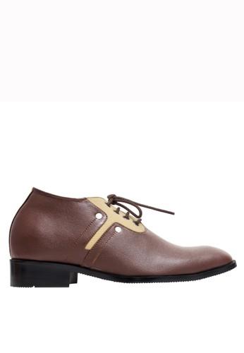 Keeve brown Keeve Shoes Peninggi Badan Formal 133- Brown  67CB2SH1FAF13DGS_1