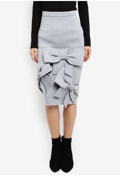 【ZALORA】 Huge 蝴蝶結 裙子