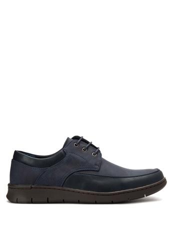 H2Ocean blue Taggart Boat Shoes H2527SH0KBFXPH_1