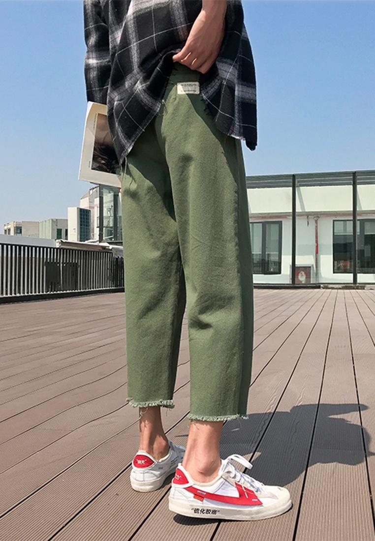 ehunter Pants Men's Cropped Straight green hk xIxHaqU