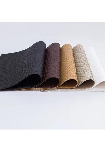 Maison Curio Woven PU Leather Waterproof Lexon Placemat Noir 99AF9HL1069BA4GS_1