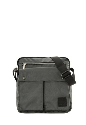 SEMBONIA black SEMBONIA Men Nylon Shoulder Bag (Black) 26D64AC945EEA5GS_1