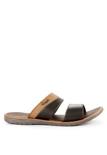 Homyped brown Confero 02 Men Sandals A3CFASHDC91E49GS_1
