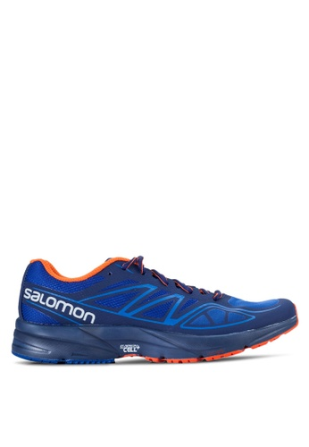 Salomon blue Sonic Aero Shoes SA438SH04WDZMY_1