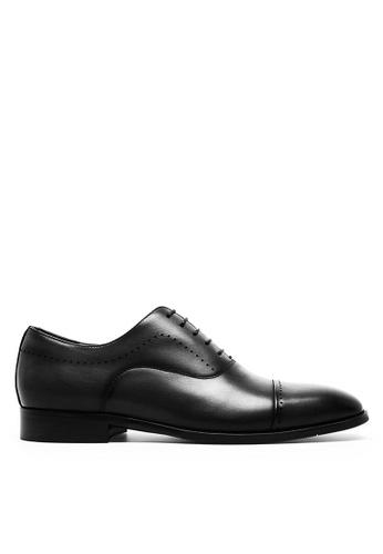 Twenty Eight Shoes 復古手工擦色真皮牛津鞋 892105 84388SHBF4350BGS_1