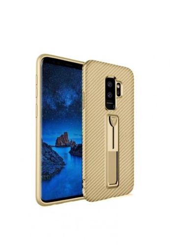 MobileHub gold Xundd Vision Series Carbon Fiber Case for Samsung Galaxy S9 Plus 6EC74ACEFCC239GS_1
