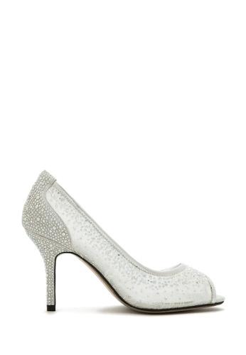 PAZZION silver Stunning Heel 67FFDSH7031C86GS_1