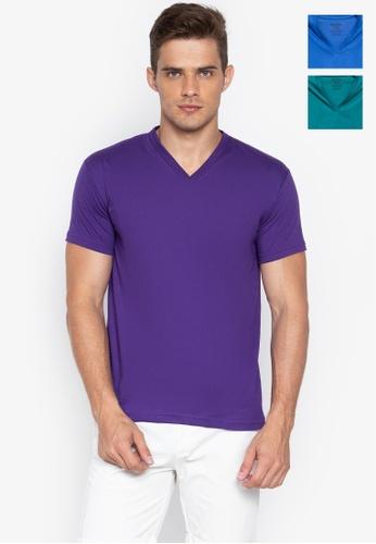 Sunjoy multi V-Neck T-Shirt (Bundle Of 3) 328AFUSD5C6E83GS_1