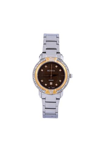 BONIA silver Bonia Rosso - BR151-2347S - Jam Tangan Wanita - Silver Rosegold FCB34AC7423620GS_1