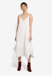 Something Borrowed multi Waterfall Hem Midi Dress 6C7F8AA5ED293CGS_1