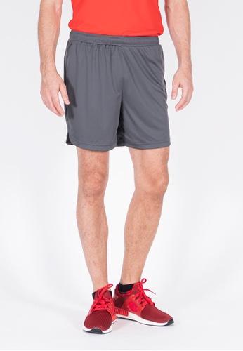 AMNIG grey Amnig Men Football Short Pants (Dark Grey) 7C1DAAAA3FC254GS_1