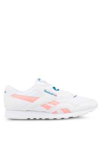 Reebok white Cl Nylon M TXT Shoes 46781SH5D493C4GS_1