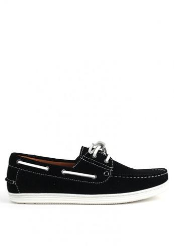 East Rock black Trunnel Men's Loafers A14E7SH2140B8CGS_1