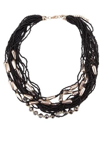 滴水形金esprit 品牌飾串珠項鍊, 飾品配件, 飾品配件
