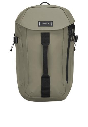 "Targus black and green Targus 15.6"" Sol-Lite Backpack A2B61ACF12E86AGS_1"