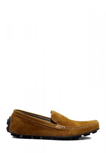 D-Island orange D-Island Shoes Slip On Lacoste Suede Tan 17935SH2A7A1E2GS_1