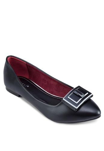 牌飾平底鞋、 女鞋、 芭蕾平底鞋Noveni牌飾平底鞋最新折價