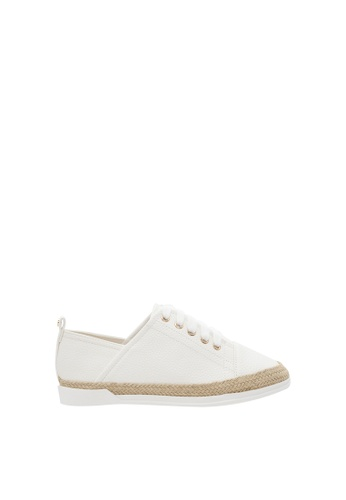 SEMBONIA white Women Synthetic Leather Sneaker B7F92SHAE2D42EGS_1