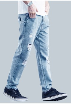 Reckless Rugged Denim Pants