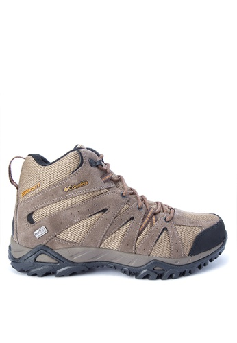 Columbia brown Grand Canyon Mid Outdry Men's Shoes 4D30DSH720F127GS_1