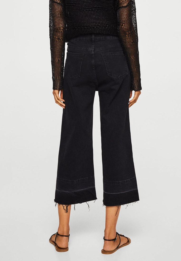 Culotte Mango Jeans Open Grey Relaxed rrRqd