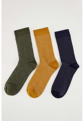 DeFacto multi Man 3-pieces Socks DDEBFAA08044EFGS_1