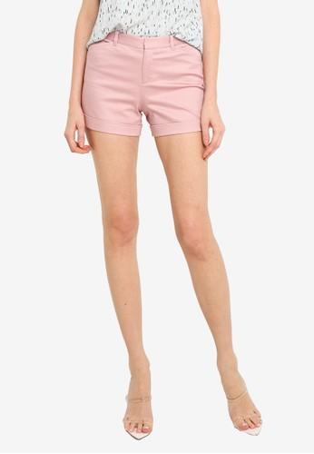 G2000 pink Shorts With Cuffed Hem 04CFEAAFC74EB2GS_1