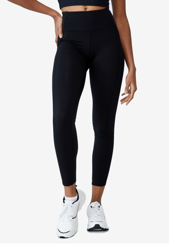 Cotton On Body black High Waisted Yoga Full Length Tights 0DACCAAEF95215GS_1