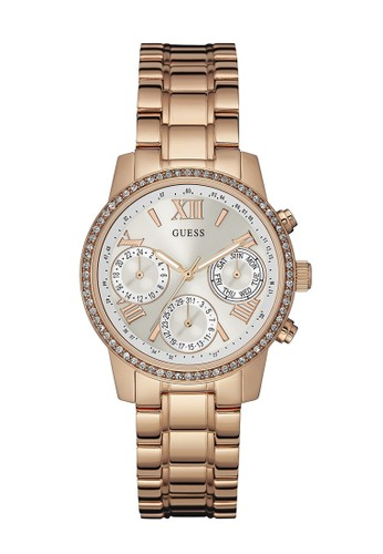 Guess Watch gold Guess Jam Tangan Wanita - Rosegold - Stainless Steel - W0623L2 3D411ACB150645GS_1