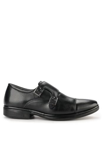 Obermain black Genebra Monk Strap F1761SH071E84CGS_1